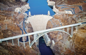 hoover dam-bridge