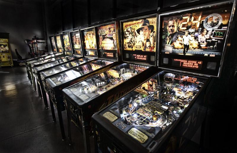 pinball machine museum