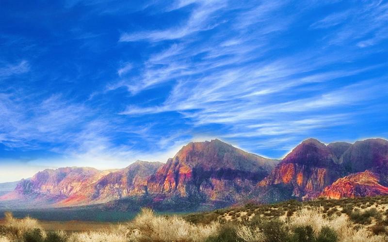 red rock mountain las vegas