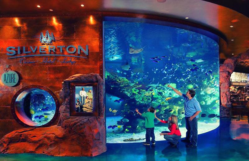 as vegas-mermaids- aquarium
