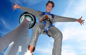 Stratosphere-sky jump