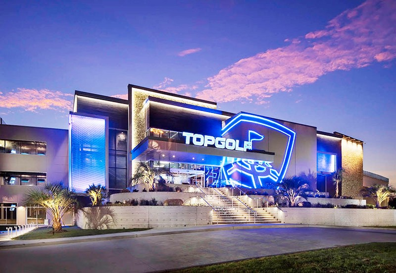 Sports Bars Are: Top Golf Las Vegas