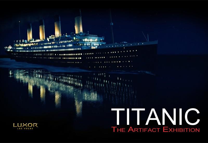 titanic exhibition las vegas