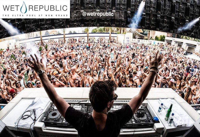wet republic pool party las vegas
