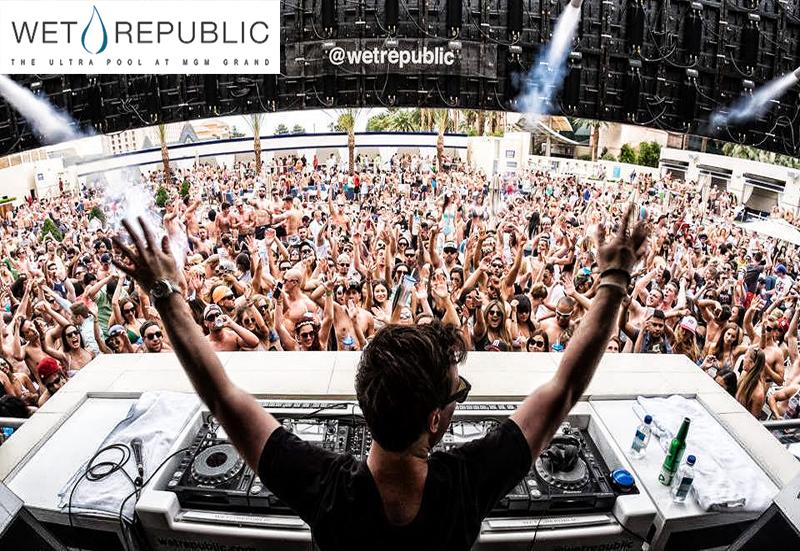 wet republic pool party las vegas